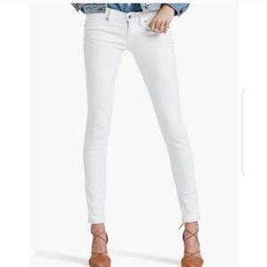 Lucky Brand Charlie Skinny White Jeans